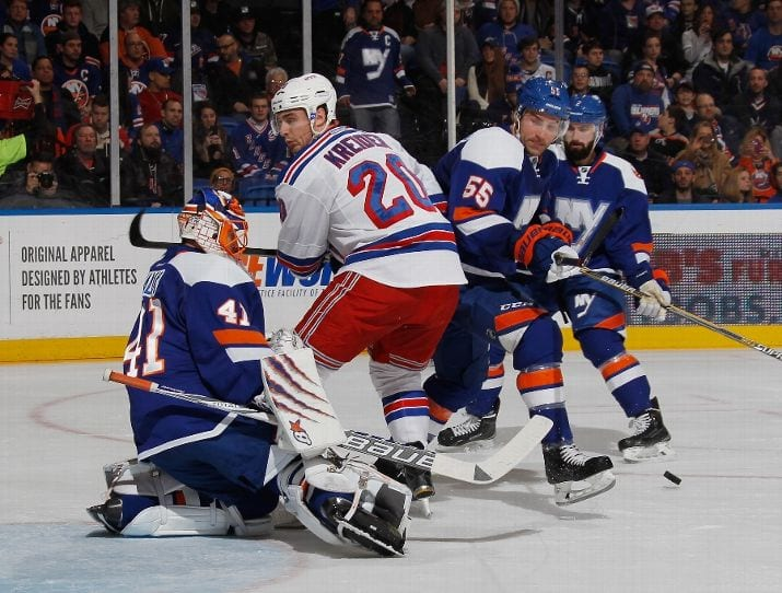 Halal stopped almost every puck he saw last night (Bruce Bennett - Getty)
