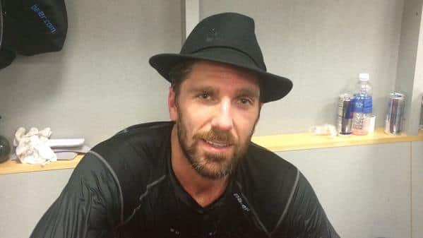 Lundqvist with the Broadway Hat (NYR)