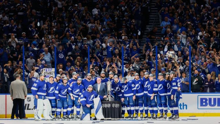 Betting lines set for Stanley Cup Final